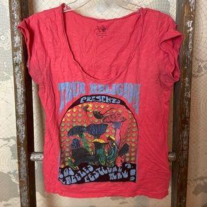 True Religion Los Angeles festival t shirt M GUC